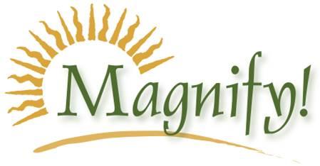 Magnify! Campaign logo